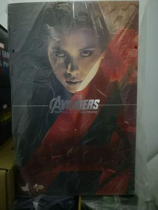 hottoys avengers 2 ultron 鷹眼及 black widow
