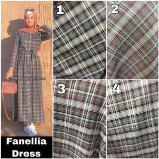 🚚 Fanellia Checkered Dress PRE ORDER