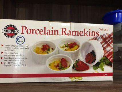 Porcelain ramekins (set of 4)