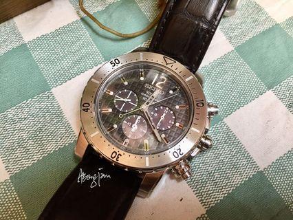 Seiko Solar Chronograph  SSC223P2