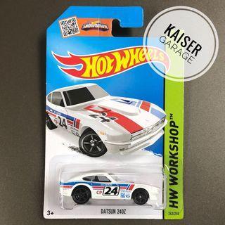 Hot Wheels : Datsun 240Z (White)