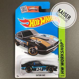 Hot Wheels : Datsun 240Z (Black)
