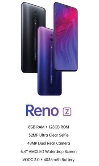 RENO (Z) NEWLY LAUNCH 🚀 8GB RAM + 128GB ROM