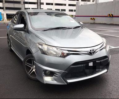 Toyota vios 1.5 Auto Tahun 2014 TRD Body Kit