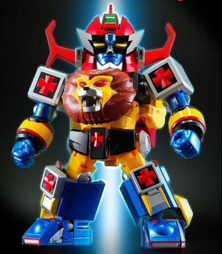 Action Toys ES 合金 未來合體 金毛獅王