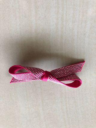 Jepit Rambut Pita Pink