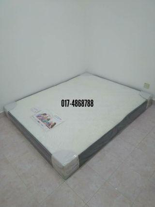 Queen Bed 8 Inch Reborn Mattress New