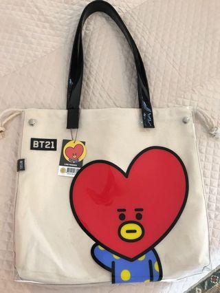 Official BT21 Tata Canvas Bag