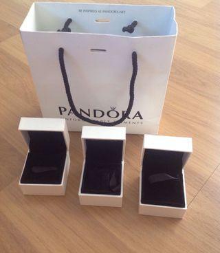 Pandora box and paperbag
