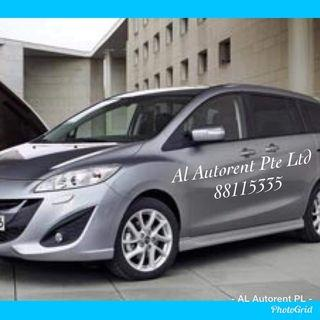 Weekend promo sedan from $210.Mpv from $240.Contact us at 88115335