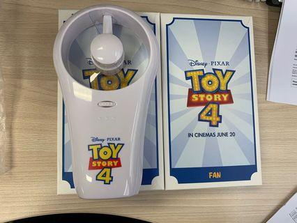 Toy story 4 fan - requires 4 AA batteries