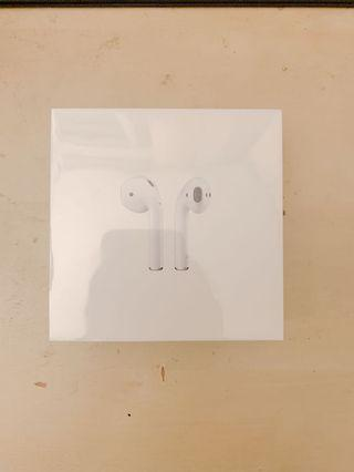 AirPods w/ Charging Case BRAND NEW