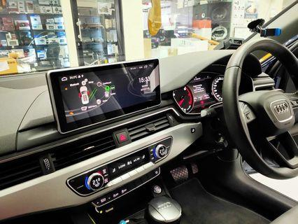 "Audi A4 10.25"" Plug & Play Android Monitor"