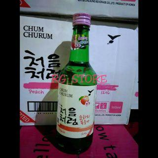 CHUM CHURUM PEACH SOJU
