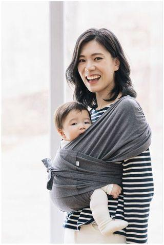 🚚 Konny Baby Carrier -Charcoal M
