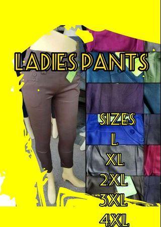 Ladies Pants 2XL,3XL,4XL