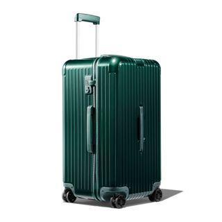 NEW Rimowa Topas Trunk 89 L Essential Green Gloss Luggage