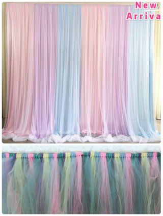 🚚 Curtain Macaron Colour (Setup Only)