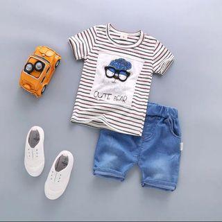[READY STOCK] Boy Set Shirt And Pants