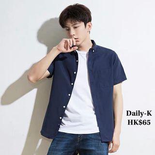 19年7月11  多色短袖shirt    貨號:shirt190711 大減價