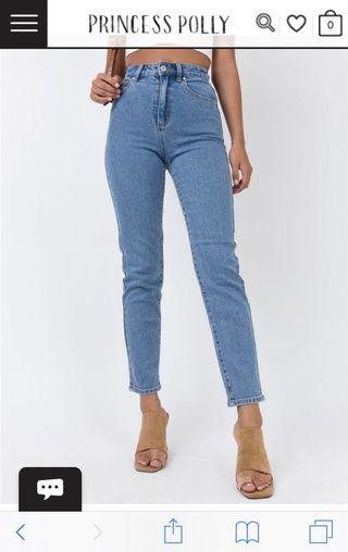 Abrand Georgia 94 High Slim Jeans