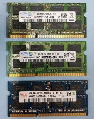 DDR3 4GB RAM (laptop)