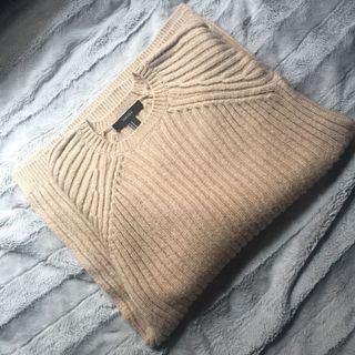 ✨forever 21 long sweater dress   khaki/tan/beige