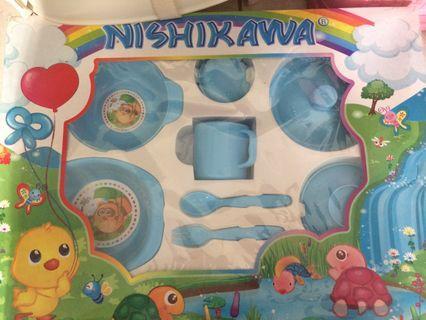 Tempat makan bayi nishikawa