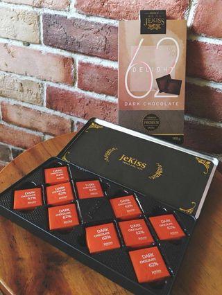 Jekiss dark chocolate,korea inport
