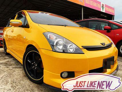Toyota wish 1.8 auto cash buy