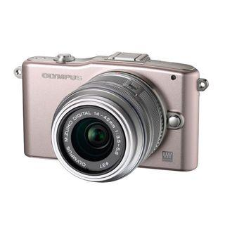 Olympus Pen Mini Double Zoom Kit (Pink)
