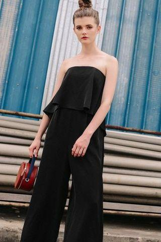 FASHMOB THIERRY JUMPSUIT IN BLACK