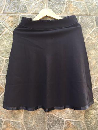 Black Skirt A line