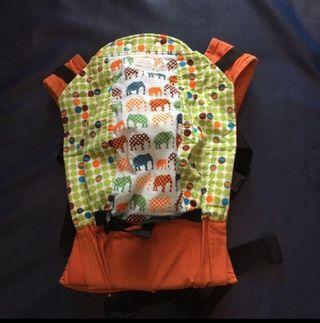🚚 Rare print KP baby carrier urban elephant duo