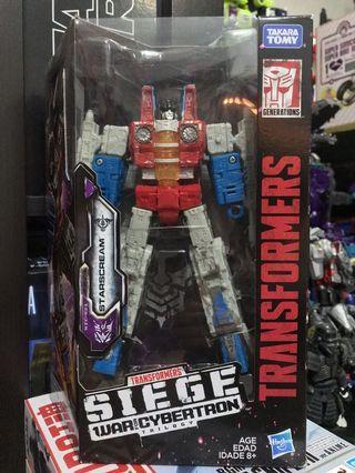Transformers SIEGE War for Cybertron Trilogy Starscream