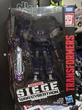 Transformers SIEGE War for Cybertron Trilogy Shockwave
