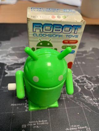 🚚 Android - Robot Clockwork Toy