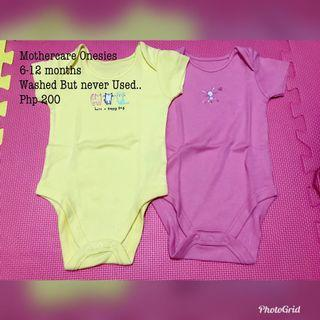 Mothercare Onesies 6-12 months