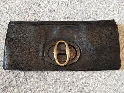 Yves Saint Laurent sling bag /clutch vgc black