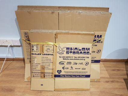 Cardboard boxes for moving (Shalom)