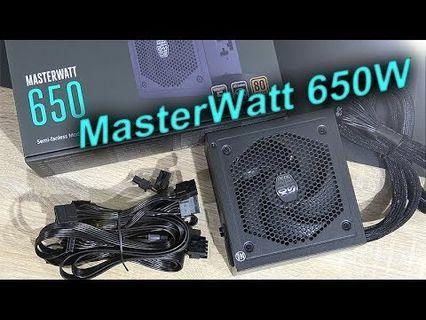 COOLER MASTER 650W MASTERWATT  SEMI MODULAR PSU