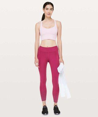 Lululemon Tight stuff tights Ruby SZ 4 RRP$148