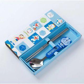 Sumpit&sendok Doraemon BLUE