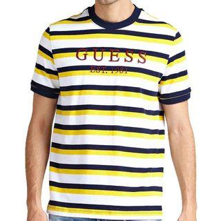 Guess tee striped