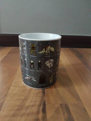 Star wars character mug