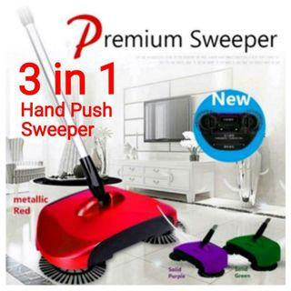 Brand New 360 Degree Rotary Sweeper Cordless Lightweight (Red) Usual Price: $29.90 Offer :$15.90.
