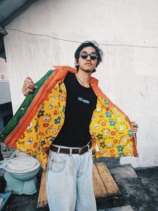 Jaket Vintage Colorful