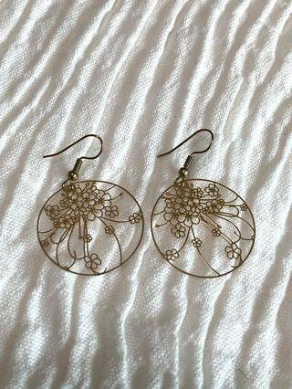 Flower Pattern Earrings