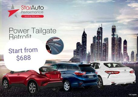 Car Auto Tailgate , The Latest Version For Honda vezel , Freed, Fit, Shuttle. . .
