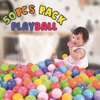 Colourful Plastic Playballs